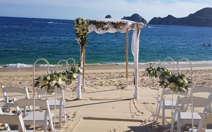 Honey Bamboo Chuppah